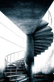 Spiral staircase at the East Building of the National Gallery of — Stock Photo