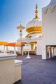 Spires at the Trump Taj Mahal in Atlantic City, New Jersey. — Stock Photo