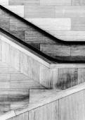 Staircases in the National Museum of the American Indian, in Was — Stock Photo