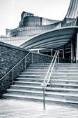 Stairs to Revel Casino Hotel in Atlantic City, New Jersey.  — Stock Photo