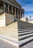 Steps to the United States Senate Building, at the US Capitol, i — Stock Photo