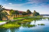 Das anchorage-inn in st. augustine, florida. — Stockfoto