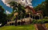 The Asa Packer Mansion, Jim Thorpe, Pennsylvania. — Stock Photo