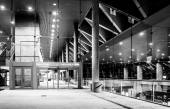 The Convention Center at night in Baltimore, Maryland.  — Stock Photo