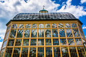 The Howard Peters Rawlings Conservatory in Druid Hill Park, Balt — Stock Photo