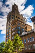 The Jackson Building in downtown Asheville, North Carolina. — Stock Photo