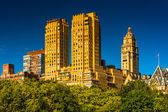 The Majestic, seen from Central Park in Manhattan, New York.  — Stock Photo