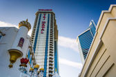 The Trump Taj Mahal, in Atlantic City, New Jersey. — Stock Photo