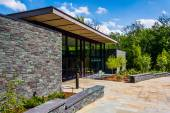 The Visitor Center at Cylburn Arboretum, Baltimore, Maryland. — Stock Photo