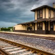 The historic train station in Gettysburg, Pennsylvania.  — Stock Photo #52610191