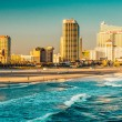 The skyline and Atlantic Ocean in Atlantic City, New Jersey. — Stock Photo #52610709