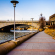 Trail along the Schuylkill River in Philadelphia, Pennsylvania. — Stock Photo #52611251