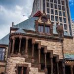 Trinity Church and 500 Boylston Street in Boston, Massachusetts. — Stock Photo #52612443