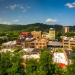 View of buildings from a parking garage in Asheville, North Caro — Stock Photo #52614259