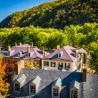 View of historic buildings on Shenandoah Street in Harpers Ferry — Stock Photo #52614905