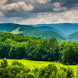 View of mountains in the Potomac Highlands of West Virginia. — Stock Photo #52614963