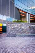 The exterior of Revel Casino Hotel in Atlantic City, New Jersey. — Stock Photo