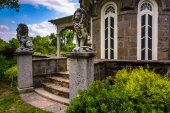 The exterior of the Cylburn Mansion at Cylburn Arboretum in Balt — Stock Photo