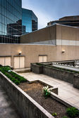Utsidan av hotellet hyatt regency i baltimore, maryland. — Stockfoto