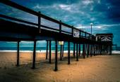 The fishing pier on the beach of Ocean City, Maryland.  — Stockfoto