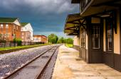 The historic train station in Gettysburg, Pennsylvania.  — Stockfoto