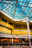 The interior of The Gallery in the Inner Harbor of Baltimore, Ma — Stockfoto