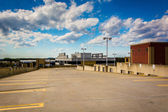 The roof of a parking garage in Gaithersburg, Maryland.  — Stockfoto