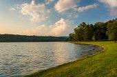 The shore of Lake Pinchot, Gifford Pinchot State Park, Pennsylva — Stockfoto