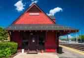 Train station in Brunswick, Maryland.  — Stock Photo