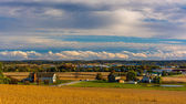 View of Hanover, Pennsylvania from Hershey Heights.  — Stock Photo