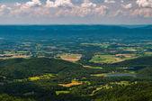 View of Lake Arrowhead and the Shenandoah Valley from Shenandoah — Stock Photo