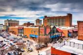 просмотр лексингтон рынка от гараж в балтиморе, мар — Стоковое фото