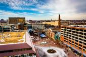 View of Power Plant Live from a parking garage in Baltimore, Mar — Stock Photo