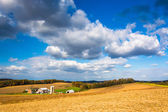 View of a farm near Glen Rock, Pennsylvania.  — Stock Photo