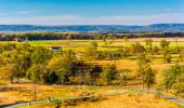 View of battlefields in Gettysburg, Pennsylvania.  — Stock Photo