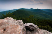 View of the Appalachian Mountains from Duncan Knob, George Washi — Fotografia Stock