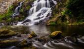 Waterfall and cascades on Antietam Creek near Reading, Pennsylva — Stock Photo