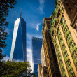 One World Trade Center and other buildings in Lower Manhattan, N — Stock Photo #53052457