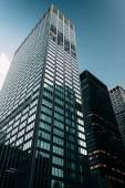 Skyscrapers along Park Avenue, in Midtown Manhattan, New York. — Stock Photo