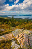 Evening view from Caddilac Mountain, in Acadia National Park, Ma — Stock Photo