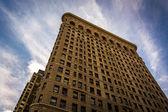 The Flatiron Building, in Manhattan, New York. — Stock Photo