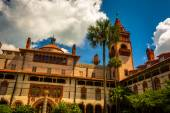 Ponce de Leon Hall, at Flagler College in St. Augustine, Florida — Stock Photo