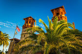 The Lightner Museum, at Flagler College in St. Augustine, Florid — Stock Photo