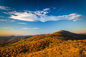 Autumn morning view from Beacon Heights, along the Blue Ridge Pa — Stock Photo