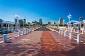 The pier in Saint Petersburg, Florida. — Стоковое фото