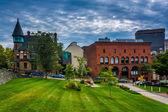 Buildings along Waterman Street in Providence, Rhode Island. — Стоковое фото