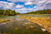 Northeast Creek, on Mount Desert Island in Bar Harbor, Maine. — Stock Photo