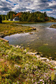 Northeast Creek, on Mount Desert Island in Bar Harbor, Maine. — Stock Photo