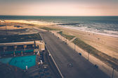 View of the boardwalk in Atlantic City, New Jersey. — Stock Photo