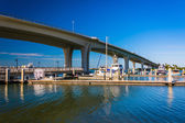 Clearwater Memorial Causeway, in Clearwater, Florida. — Stock Photo